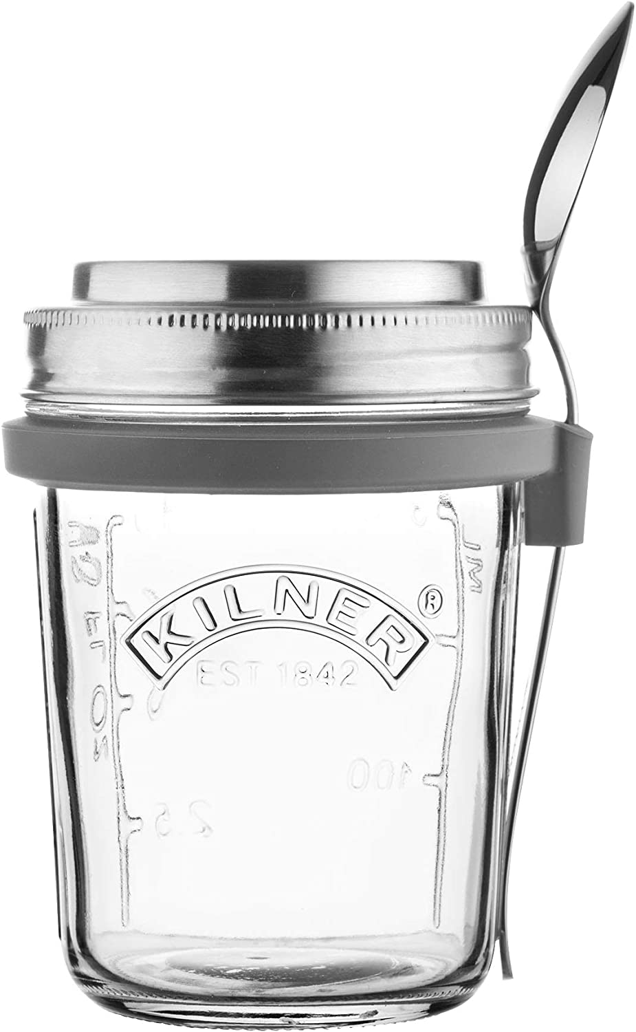 Kilner 0025.899 Breakfast Jar Set, Glass