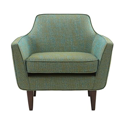 Amazoncom 510 Design Cruz Mid Century Accent Chair Blue Green