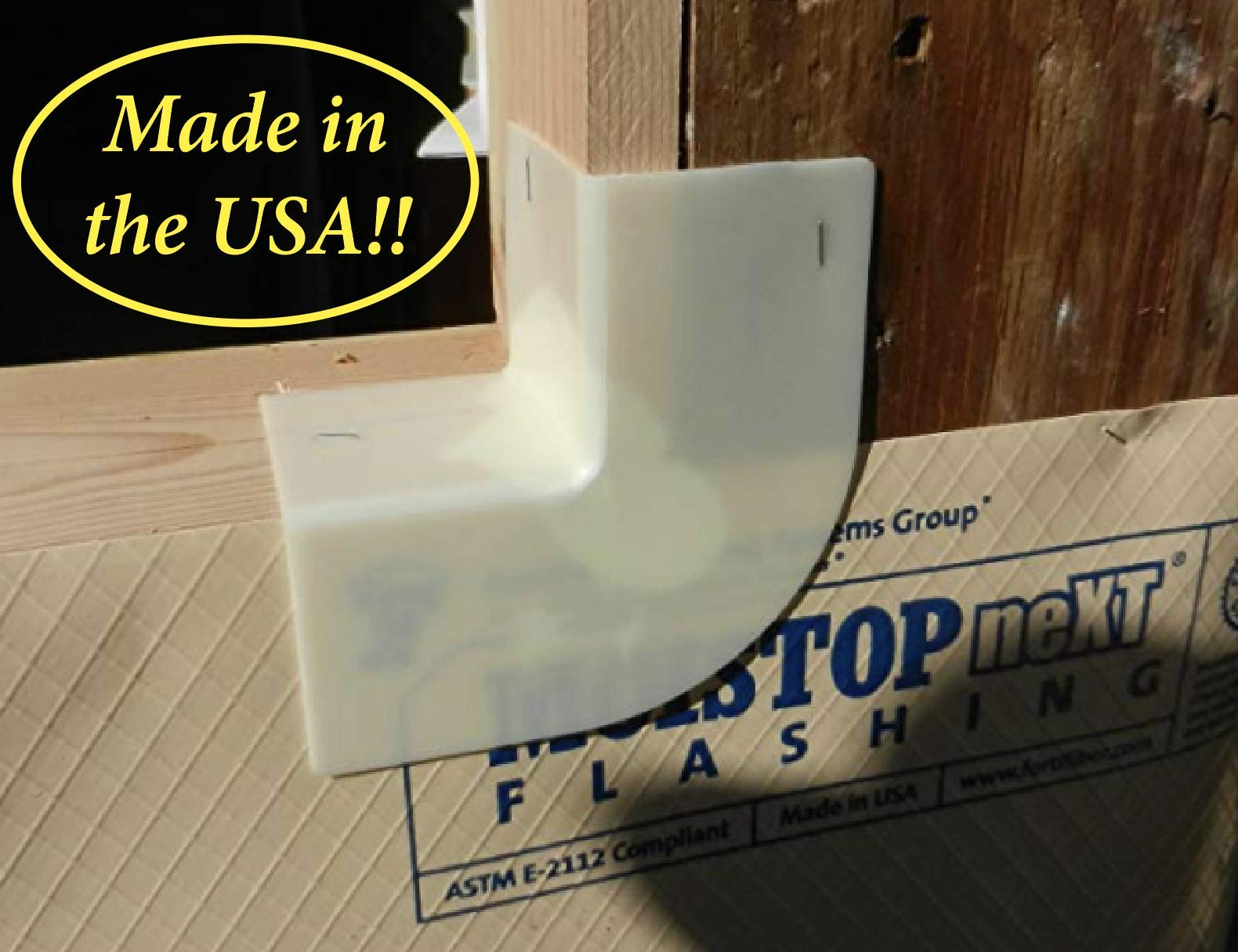 Lightning Flash Flashing Corners (Box of 20) by Lightning Flash Made in the USA