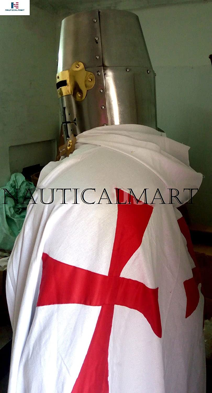 Amazon.com: Nauticalart, traje completo de armadura medieval ...