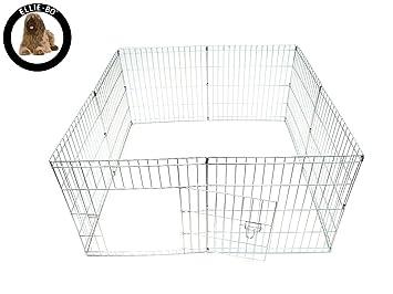 Ellie-Bo Easy-Up Cachorro Conejo Jugar Pluma, 61 cm, Plata, 8 Piezas: Amazon.es: Productos para mascotas