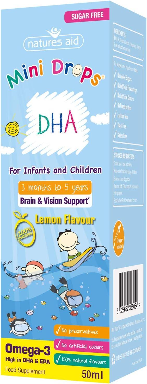 Imagen de(3 months-5 years) DHA Mini Drops for infants & children 50ml
