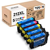 TESEN Remanufactured 212XL Ink Cartridge Replacement for Epson T212 T212XL 212 XL to use with Expression Home XP-4100 XP-4105