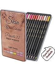 Light Skin Tone Color Pencils   Portrait Set   Colored Pencil for Adults   Skintone Artist Pencils