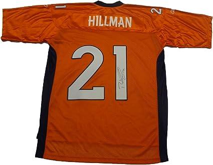 Ronnie Hillman Autographed Denver Broncos Jersey W/PROOF Picture ...