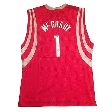 new concept f94e9 39428 Tracy Mcgrady Autographed Signed Houston Rockets Autographed ...