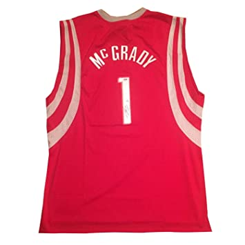 8ea6851b43c Image Unavailable. Image not available for. Color  Tracy Mcgrady  Autographed Signed Houston Rockets Autographed Signed Reebok Basketball  Jersey Memorabilia ...