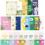 FaceTory Face Sheet Mask Bundle with 21 Facial Korean Skin Care Sheet Masks | Hydrating, Radiance Boost, Calming…