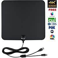 SKYTV Amplified HDTV Antenna (Black)