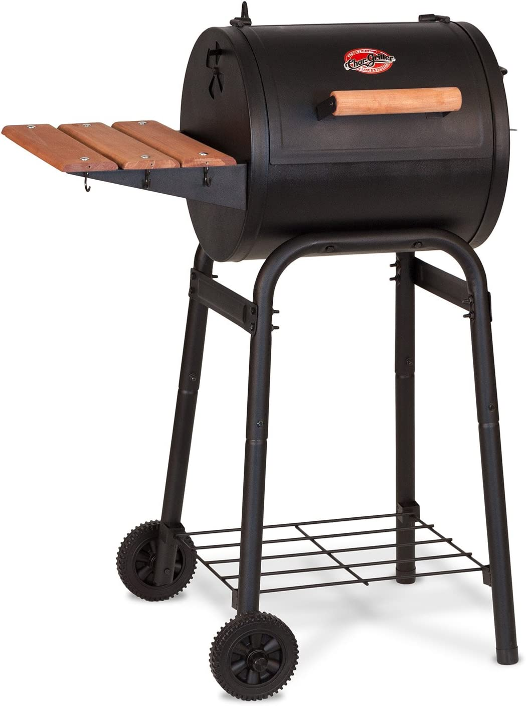 Best Limited Space Grill: Char-Griller E1515 Patio Pro Charcoal Grill