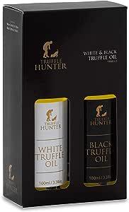 TruffleHunter Set de aceite de trufa negra y blanca (2 * 100ml)