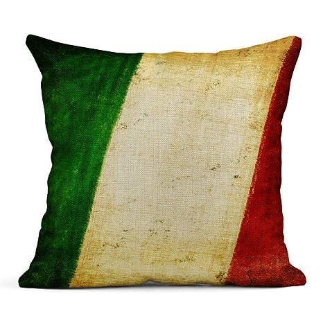 Kinhevao Cojín Bandera de Italia Antigua Dibujo y Serie ...