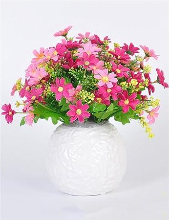 Simulation Blumen-Gänseblümchen, gefälschte Blumen, Wohnzimmer ...