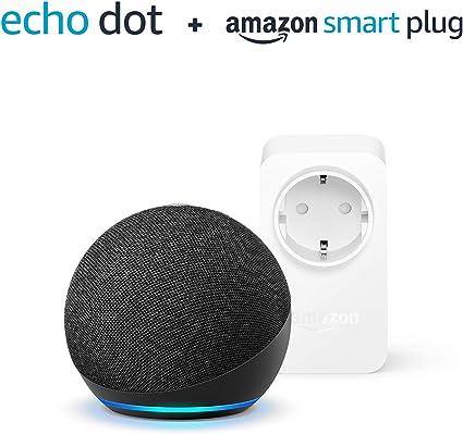Der Neue Echo Dot 4 Generation Anthrazit Amazon Smart Plug Wlan Steckdose Funktionert Mit Alexa Alle Produkte