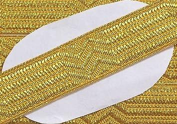 Gro/ßhandel f/ür Schneiderbedarf K Gr/öger Uniform Tresse Gold 20 mm