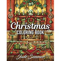 Christmas Coloring Book: An Adult Coloring Book with Fun, Easy, and Relaxing Designs