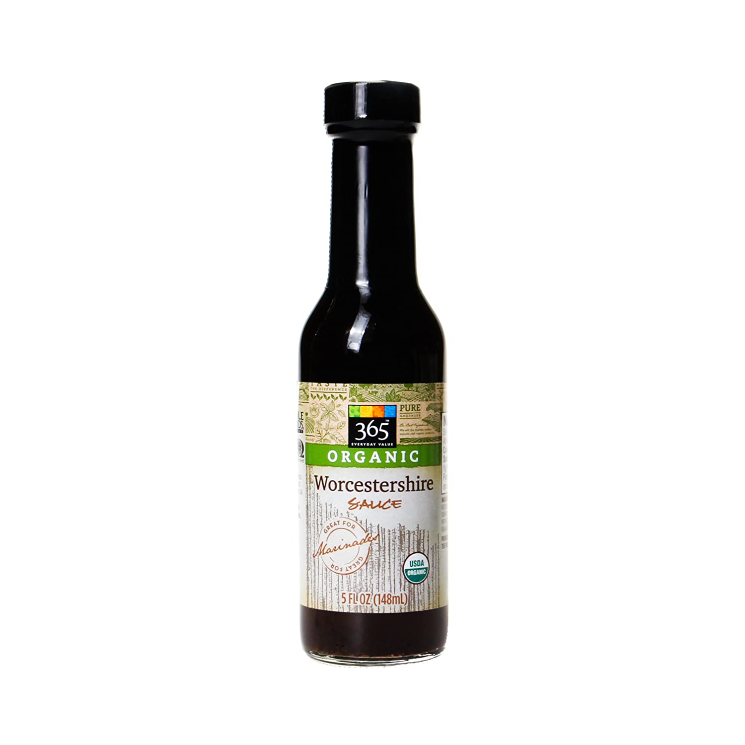 365 Everyday Value, Organic Worcestershire Sauce, 5 Ounce