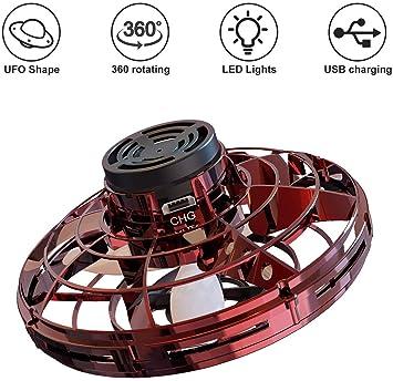 Dreamsbox Mini Drone Juguete para niños, UFO Helicóptero con Luces ...