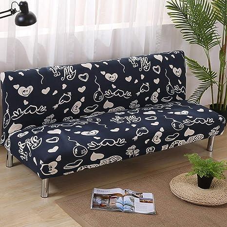 Remarkable Amazon Com Sandm Elastic Armless Sofa Bed Cover Sofa Slip Download Free Architecture Designs Scobabritishbridgeorg