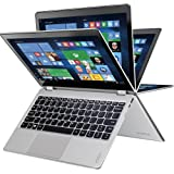 """Lenovo Yoga 710 2-in-1 11.6"""" FHD IPS Touch-Screen Laptop, Intel Pentium Processor, 4GB RAM, 128GB SSD, HDMI, Bluetooth, Webcam, No DVD, Win10-Aluminum chassis (Certified Refurbished)"""
