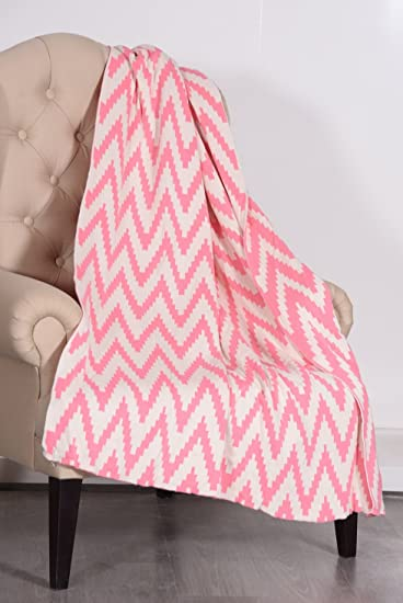 Norry Design 100% Cotton Knit Throw Blanket  Throws And Blankets Sofa Couch  Blanketu2013