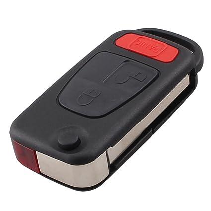 3 Botones carcasa de mando Key Fob para Mercedes Benz SLK230 ...