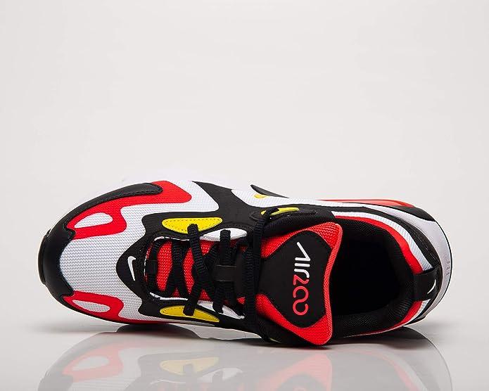 Buy Nike Air Max 200 (Gs) Boys Grade SCHL AT5627 005, Black