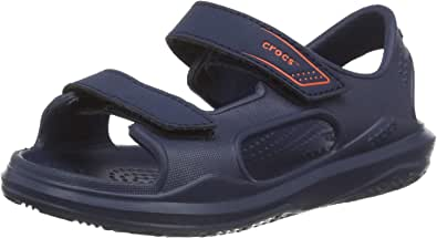 Crocs Swiftwater Expedition Sandal K, Sandalia con Pulsera Unisex niños