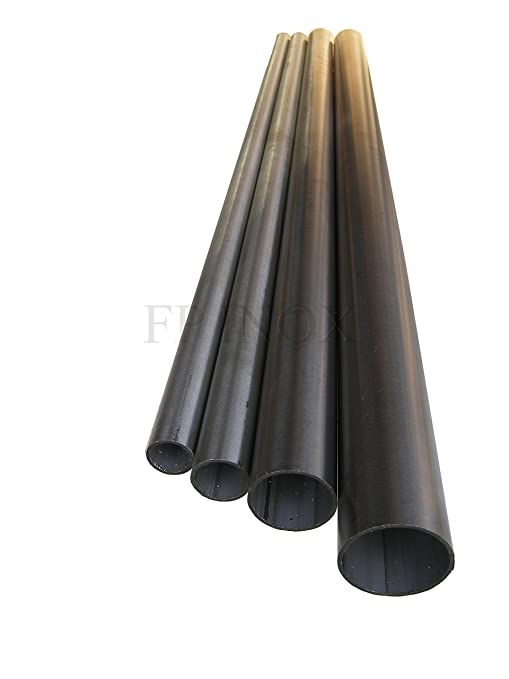 Tubo cepillado acero inoxidable 304 diámetro 42,4 mm ...