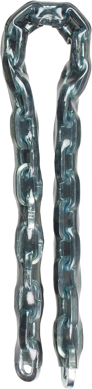 Master Lock 8021EURD Cadena Antirrobo, Plateado, 2 m