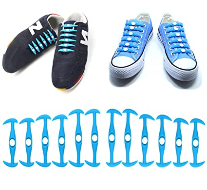 1e362f945d768 Amazon.com: UCLEVER 12PCs No Tie Shoelaces for Kids & Adults The ...