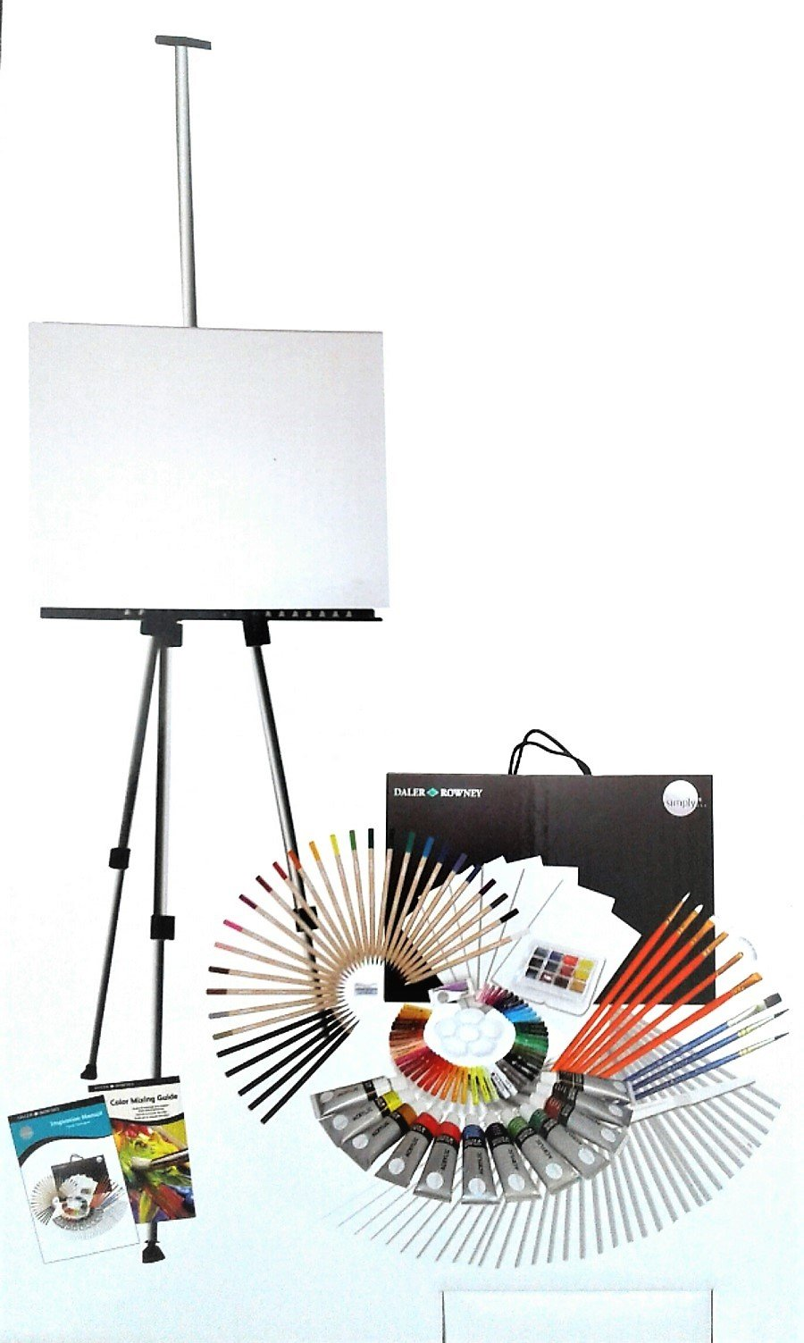 DELUXE ARTIST DRAWING & PAINTING SET ✺ 162 PIECES
