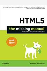 HTML5: The Missing Manual (Missing Manuals) Kindle Edition