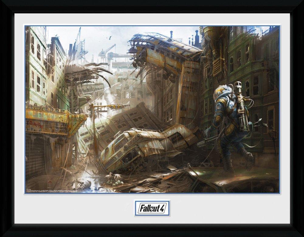 GB Eye Ltd, Fallout 4, Vertical Slice, Fotografia Enmarcada ...