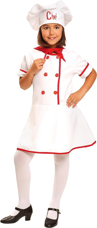 My Other Me Me-200955 Disfraz de cocinera para niña, 10-12 años (Viving Costumes 200955)