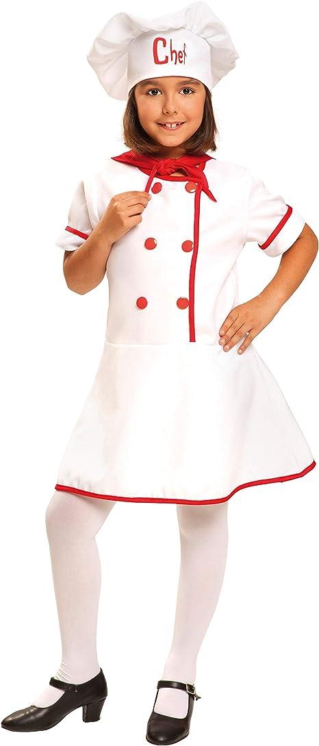 My Other Me Me-200954 Disfraz de cocinera para niña, 7-9 años ...