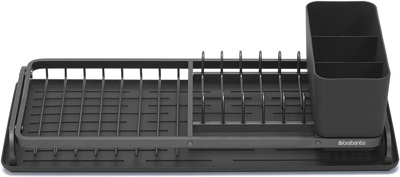 Brabantia Abtropfgestell dunkelgrau Stahl 49,2/x 38,6/x 14,2/cm