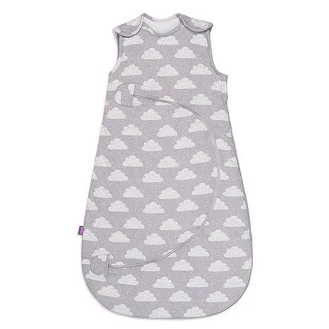SnuzPouch - Saco de dormir, de 0 a 6 meses, 2,5 tog, estampado de nubes: Amazon.es: Bebé