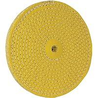 Silverline 105888 spiralsydd bufferthjul, 150 mm Sisal 1 - Pack
