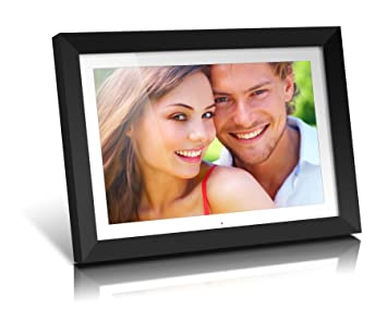 aluratek admpf119 19 inch digital photo frame with 2 gb built in memory