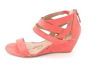 American Rag Casen Women US 8 Pink Wedge Sandal