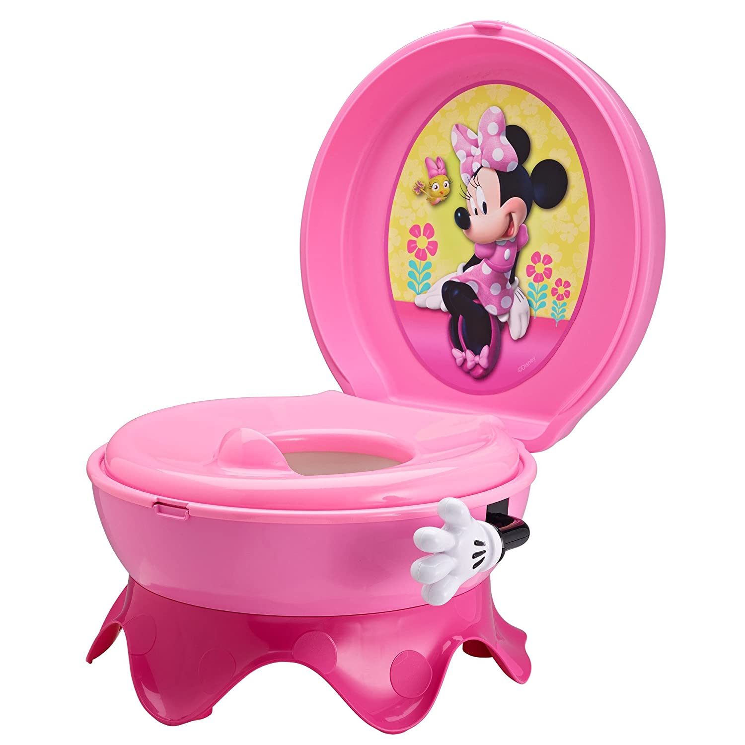 The First Years Disney Baby Mickey Mouse 3-In-1 Potty System, Graphics May Vary Y9909