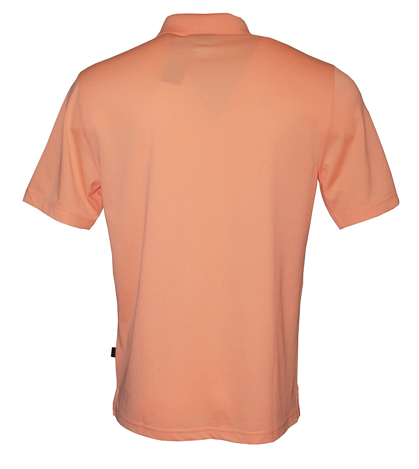 Greg Norman Mens Short Sleeve 5 Iron Performance Polo Pacific Coral