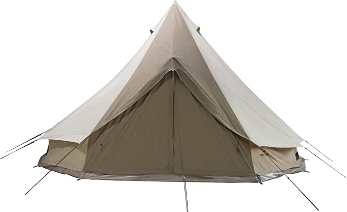 TETON Sports Sierra Canvas Tent; Waterproof Bell Tent for Family Camping in All Seasons