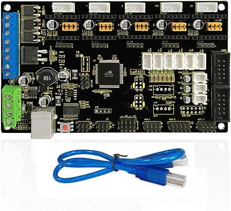 KEYESTUDIO Tarjeta de control para impresora 3D MKS Gen V1.2 para ...