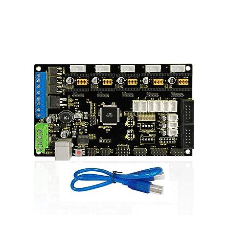 KEYESTUDIO Tarjeta de control para impresora 3D MKS Gen V1.2 ...