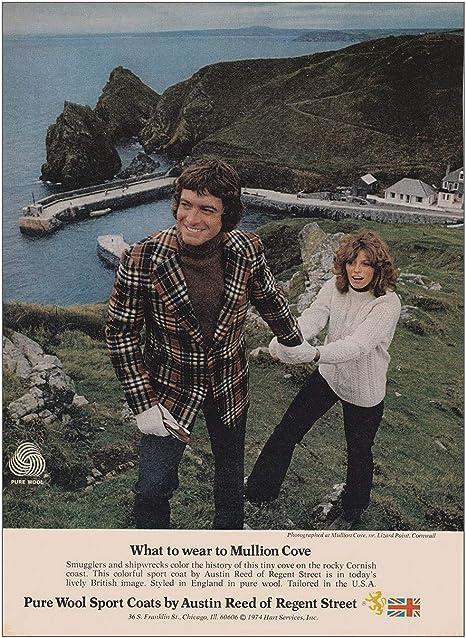 Amazon Com 1974 Austin Reed Of Regent Street Wear To Mullion Cove Austin Reed Print Ad Posters Prints