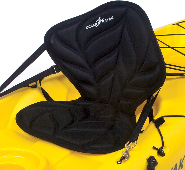 Ocean Kayak Comfort Zone Premium Seat Back, Black 710tpgztA3LSL1500_