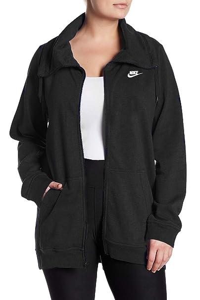 sneakers for cheap 89223 646d6 Nike Damen Sport Casual Trichter Hals Verlängerte Leichte ...
