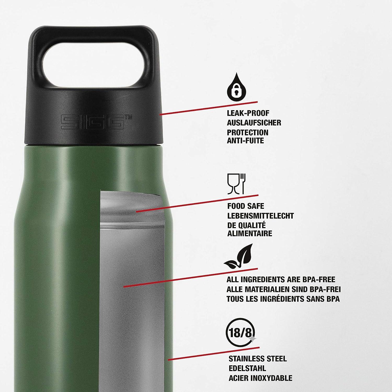 0,75 Color Verde Botella Unisex para Adulto Sigg Explorer Leaf Green